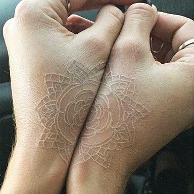 The Stir-12 Gorgeous & Delicate White Tattoo Designs (PHOTOS)