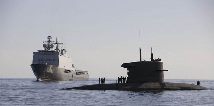 Royal Netherlands Navy Walrus class submarine.