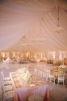 Inspiration mariage de luxe : la décoration