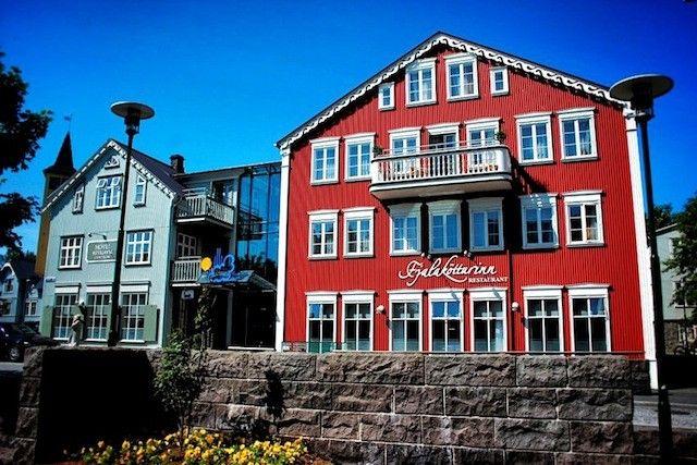 Hotel Reykjavik Centrum - where we will stay.