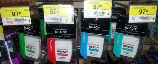 Reach Floss Just $.47 at Walmart!