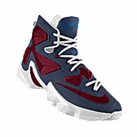 I designed the dark blue, burgundy and white Fairleigh Dickinson Knights  Nike men's basketball shoe