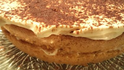 Birthes rom: Tiramisu kake