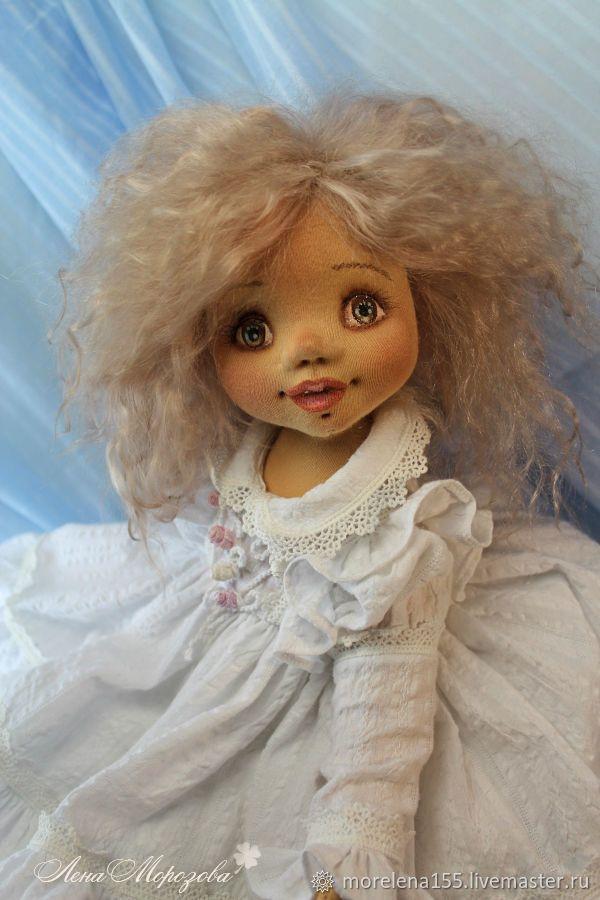 Просто Ангел...Авторская текстильная кукла – купить в интернет-магазине на Ярмарке Мастеров с доставкой