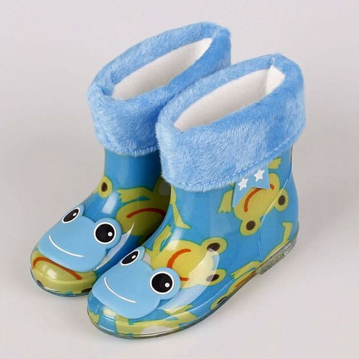 Warm Boots Rain Shoes Cute Baby Green PVC Girls Boys Cartoon 6 Color Size 24-28 Comfort Warm Boots Lovely Shoes Cute Baby Winter #>=#>=#>=#>=#> Click on the pin to check out discount price, color, size, shipping, etc. Save and like it!