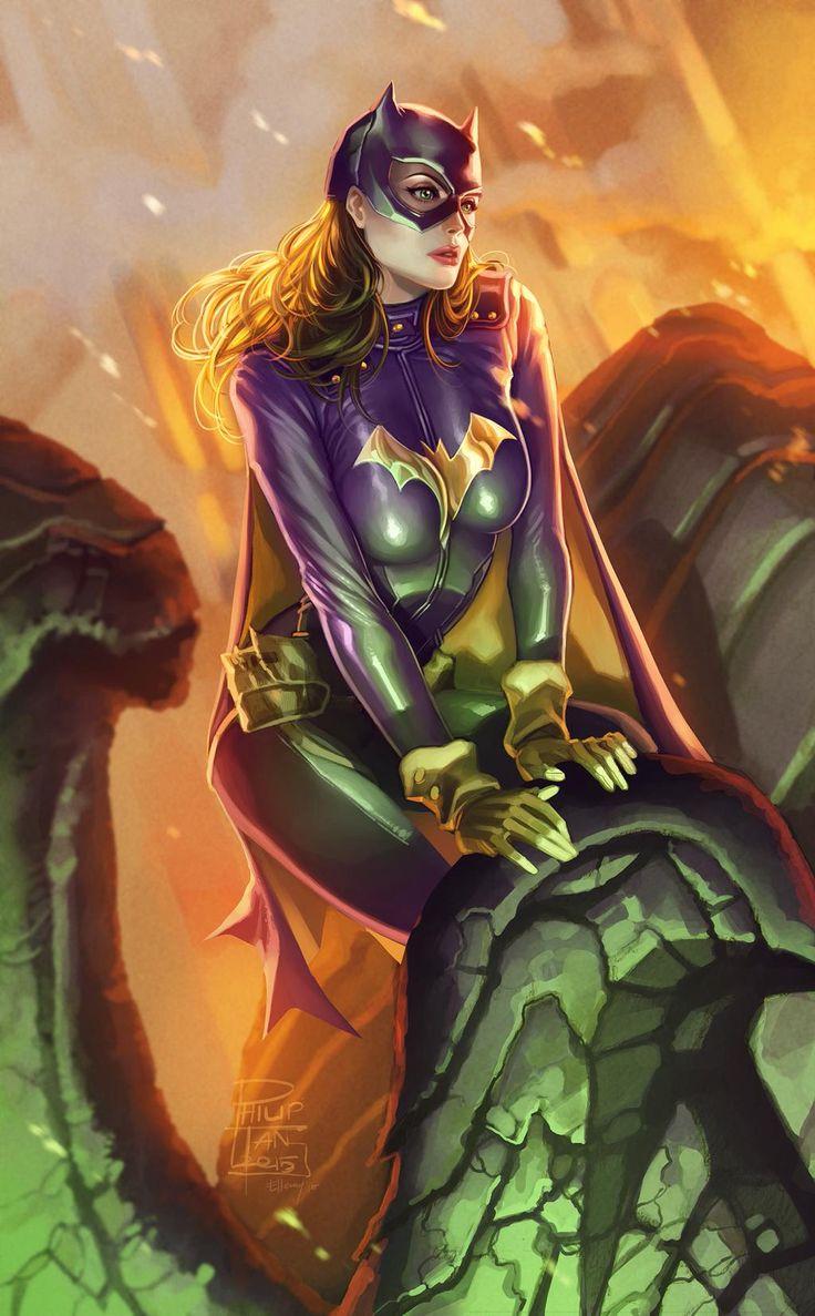 Batgirl by Philip Tan and Elmer Santos
