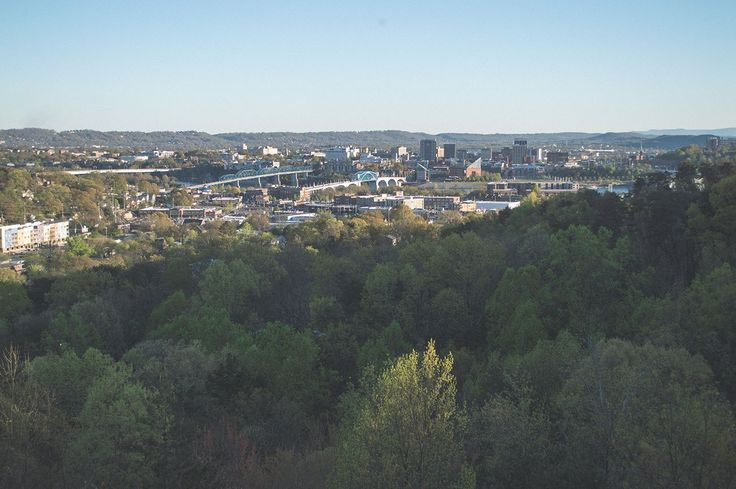 View of Downtown Chattanooga from Stringer