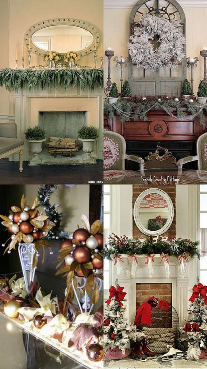 A Whole Bunch Of Christmas Mantels 111