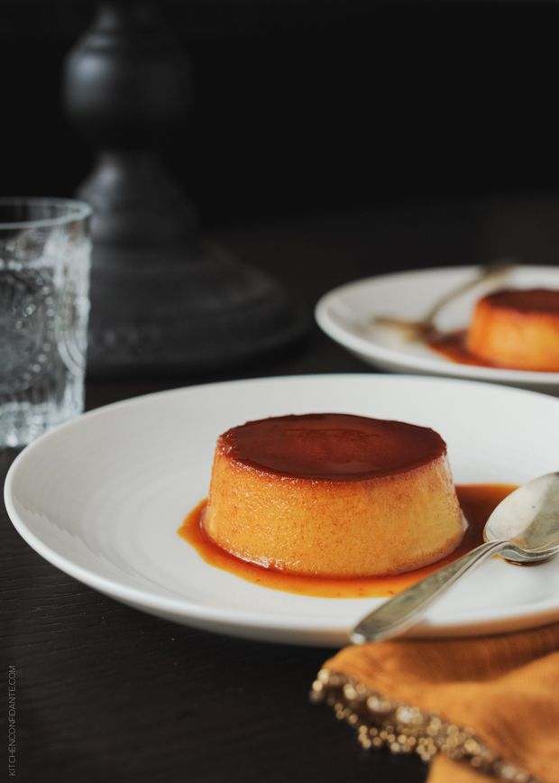 Pumpkin Leche Flan | www.kitchenconfidante.com