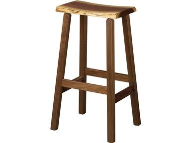 Shop For Barkman Live Edge Pub Chair, And Other Dining Room Chairs At High  Country Furniture U0026 Design In Waynesville, NC   North Carolina.