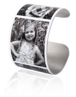 Great Mother's Day gift idea. Customized photo bracelets!