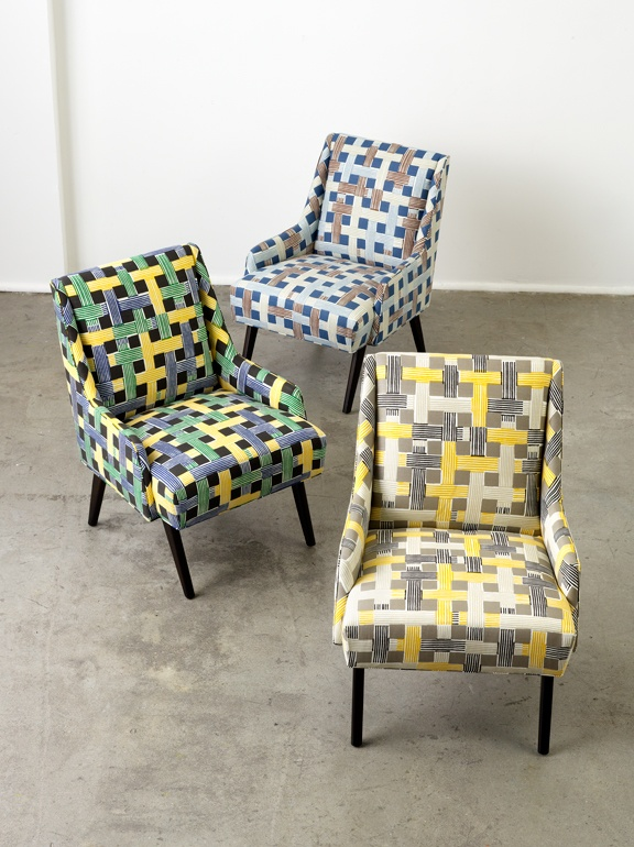 Statement Prints...@DwellStudio For Robert Allen #ModernColorTheory #Design  #Interiors. Patterned ChairClassic ChairsContemporary ChairsModern  FabricFabric ...