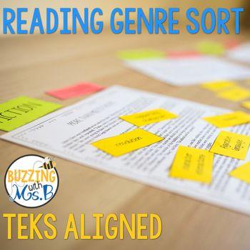 16 best reading workshop images on pinterest reading workshop reading genre sort teks aligned fandeluxe Images