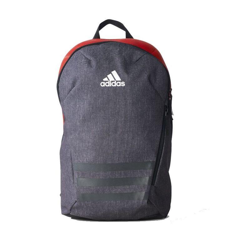 A Mochila Adidas Ace Masculina possui divisoria interna compartimento principal espaçoso alça de mão, alças de ombro ajustáveis 'Tecido plano 100% poliéster