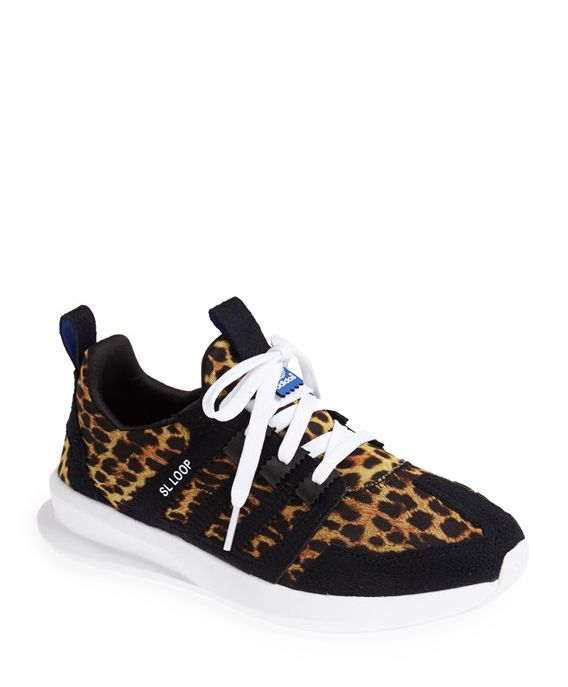 Adidas Leopard Running Sneakers