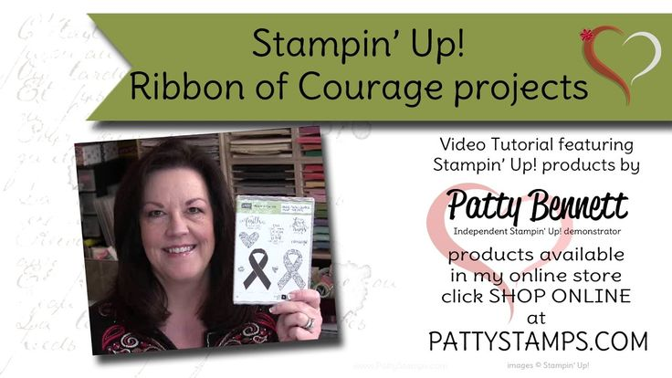 Ribbon of Courage card ideas - new from Stampin' Up!