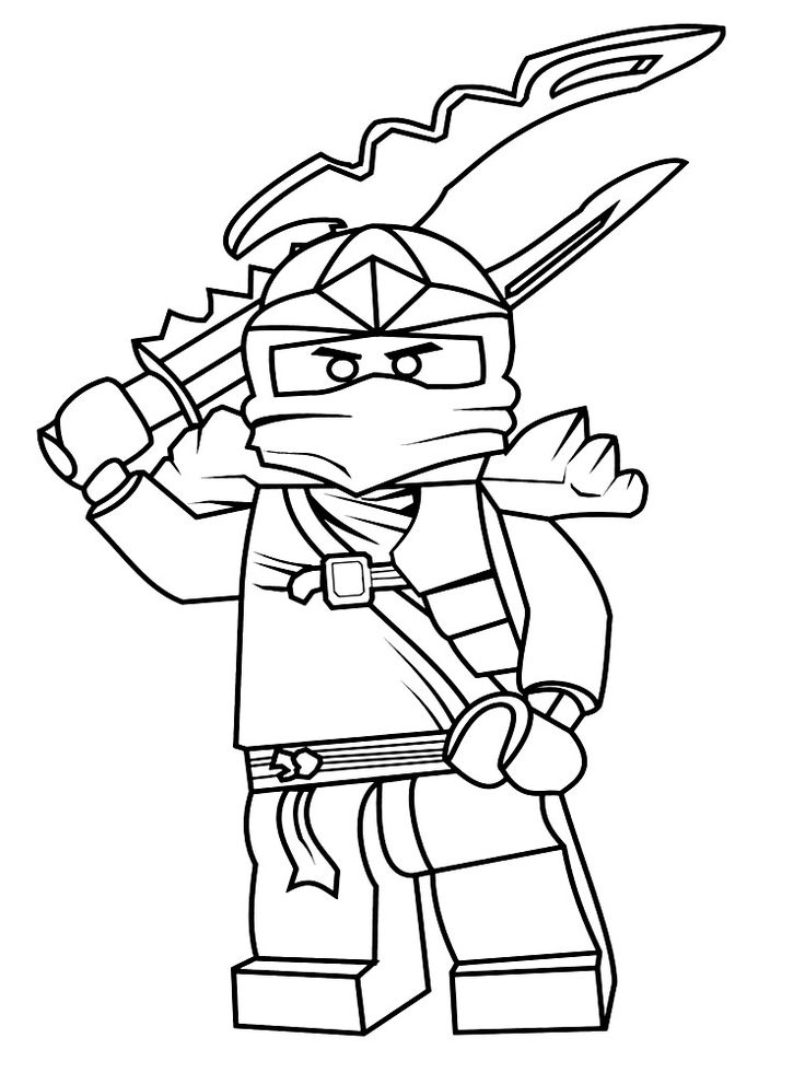Pin by Eлена Б on Раскраска | Ninjago coloring pages ...