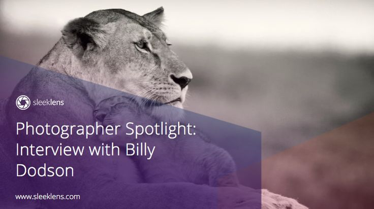 Photographer Spotlight: Interview with Billy Dodson