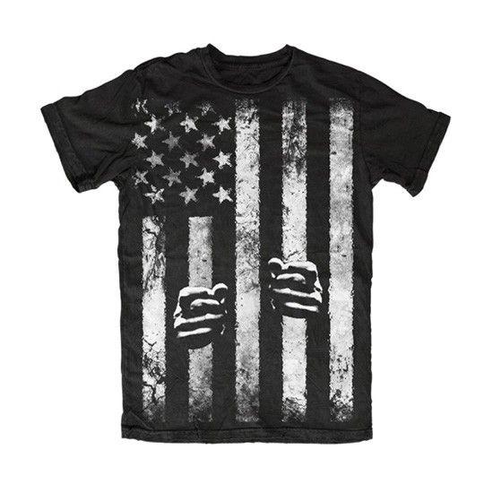 Men's Stars & Restraints T-Shirt by Skygraphx