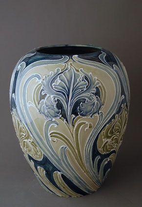William Moorcroft Art Nouveau Vase