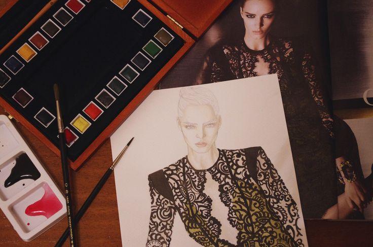 Gucci 2013 | work goes on | elenapaoletti_illustrations