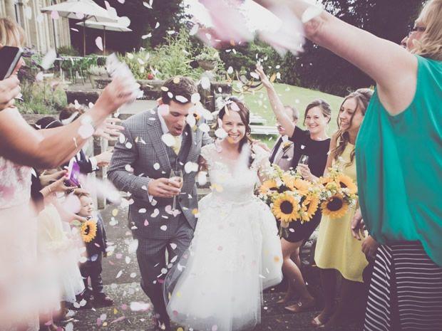 Samantha Hawkins and Darren Silverthorn celebrated their #summer #wedding at Cowley Manor near #Cheltenham. Image © Naomi Hudson, Lush Imaging.