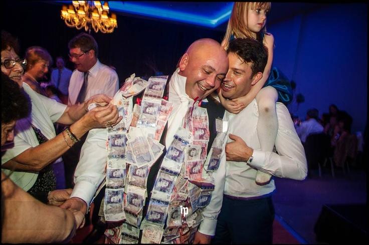 The Money Dance at Greek Wedding Waldorf Astoria Syon Park