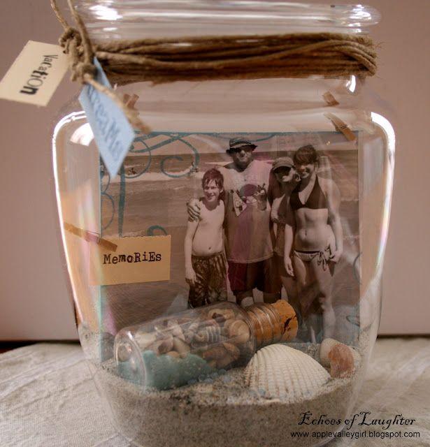 A Vacation Memory Jar