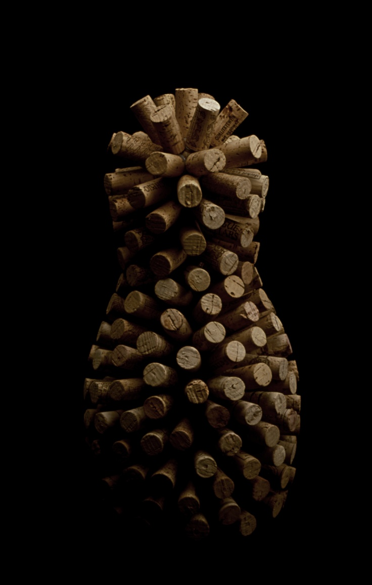Cork Bowling Pin