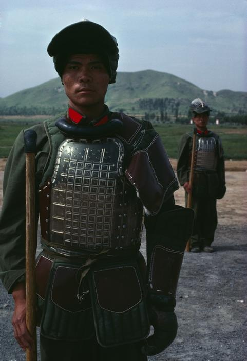 China. Soldiers. 1979.