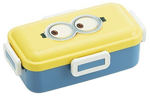 New! Minion Dome Shaped Lid Lunch Box 530ml Face Japan F/S
