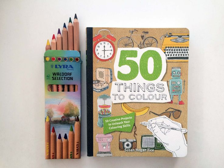 We love our Lyra // check out our range of Lyra packs // Available in store and online // ft. 50 Things To Colour by Susan Hogan Tice