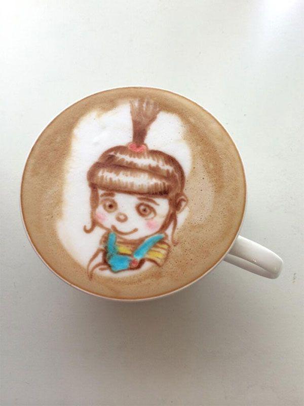 """Kaffekunst... """"Ich einfach unverbesserlich...."""""""