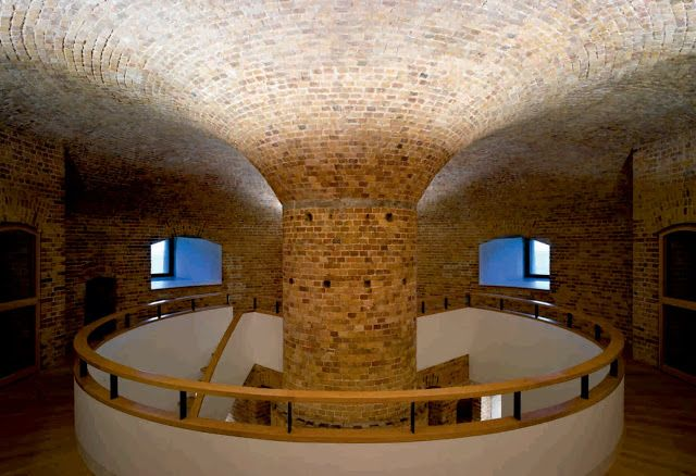 "MARTELLO TOWER ""Y"". Location: Suffolk, England; architect: Piercy ConnerArchitects; Award: RIBA Award for the Eastern Region in March 2010; year: 2010"