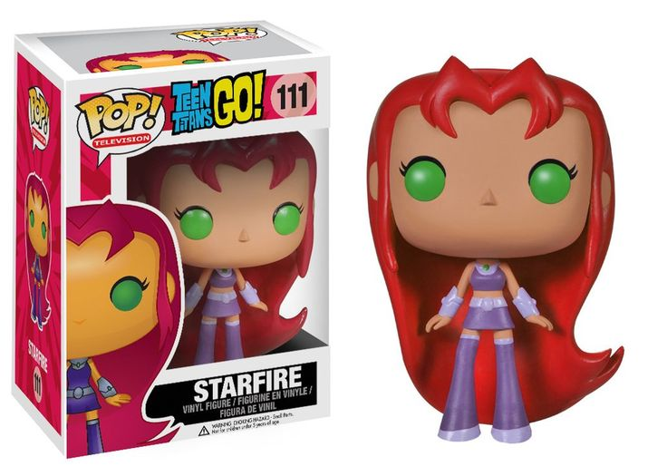 Funko POP! TV: Teen Titans Go! - Starfire