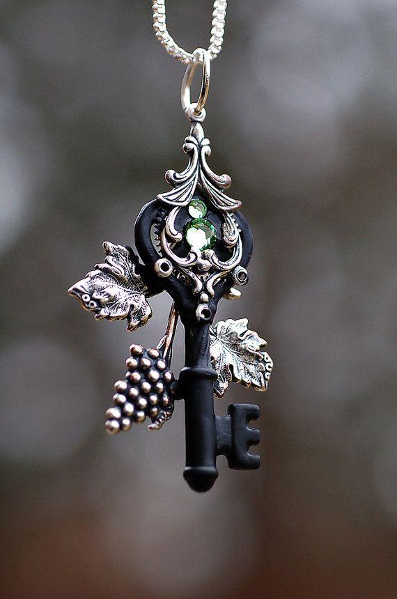 "Keys & Locks:  ""Garden of Zen Key,"" by *KeypersCove, at deviantART."