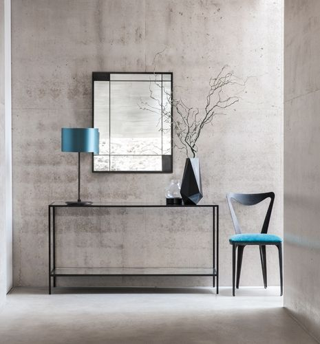 Metal Glass Contemporary Madison Console Table                                                                                                                                                     More