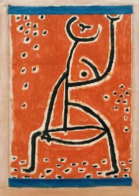 Paul Klee - Fraeulein vom Sport,