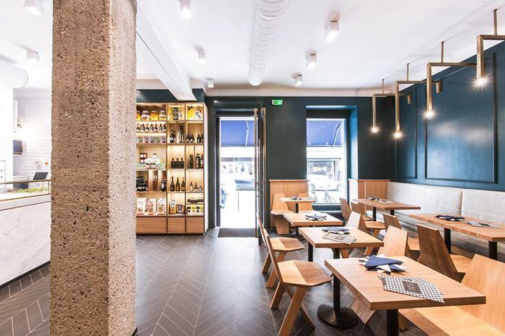 Bottega Romana, Parigi, 2014 - Isabelle Stanislas Architecture