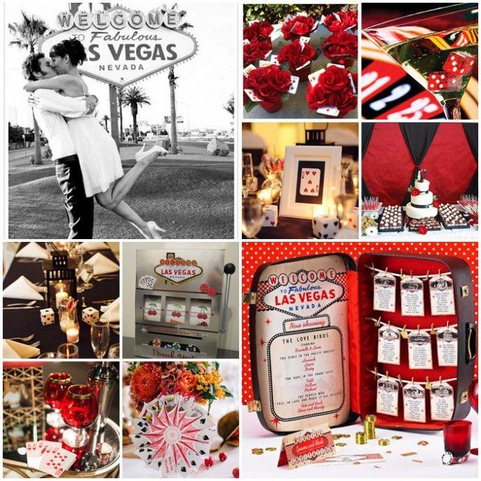 Un mariage inspiration «voyage à Las Vegas»