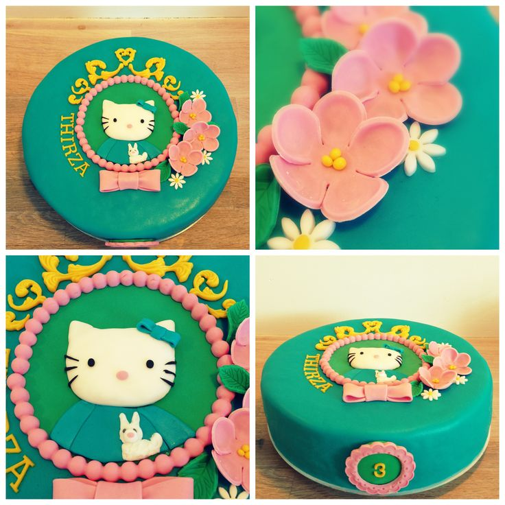 A girls dream, Hello Kitty cake by Studio Roos