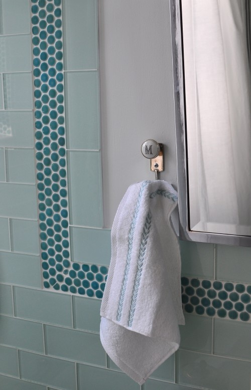 27 Best Images About Sea Glass And Subway Tile Bathrooms On Pinterest Bathroom Flooring Glass