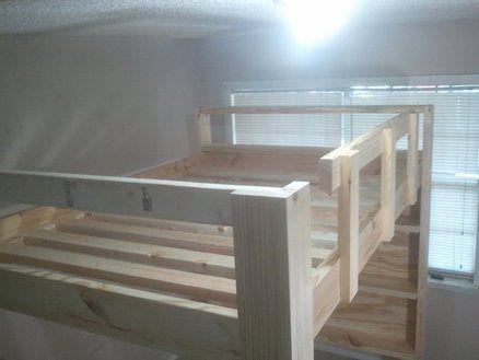 how to build a full size loft bed u2013 jays custom creations
