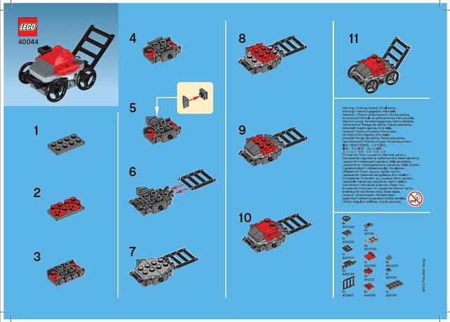 Mini Brick Spot: LEGO Mini Lawnmower