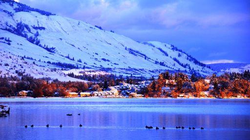 Kalamalka Lake – Vernon – Debbie Clarke's great shot.