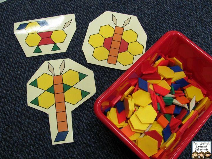 Math tub ideas and freebies