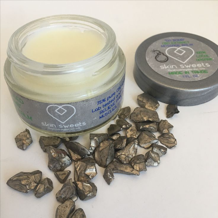 Amazing massage balm!  CBD extract with 100% organic oils