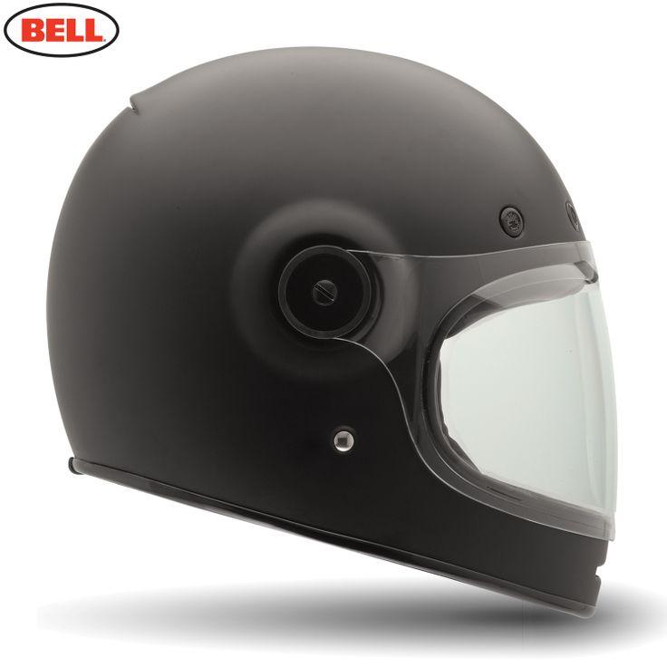 Bell Bullitt Tt Motorcycle Helmet - Bullitt Matte Black - 2014 Bell Road Helmets - 2014 Bell Moto & Road Helmets - 2014