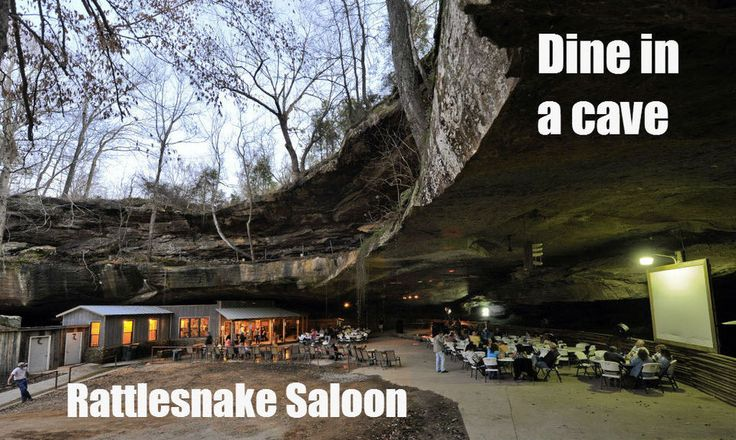 9 of Alabama's most unusual restaurants | AL.com  Rattlesnake Saloon...eat in a cave in Tuscumbia