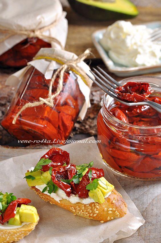 А Вы уже навялили томаты и сливы? - Вкусная пауза